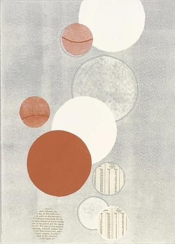 Light Grey Word Bubble Wall Art Print