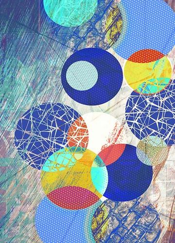 Patterned Circles I Wall Art Print
