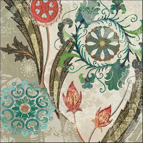 Royal Tapestry I Wall Art Print