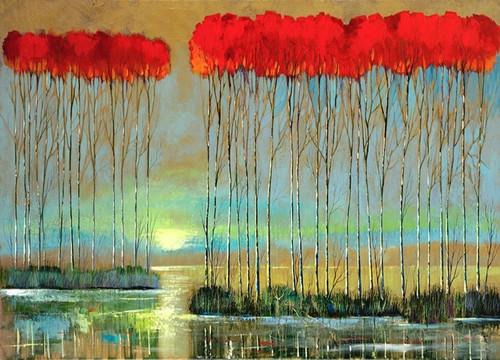 Serenity Rising Wall Art Print