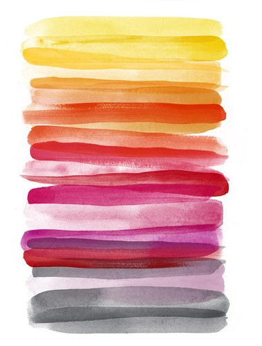 Spring Ombre Wall Art Print