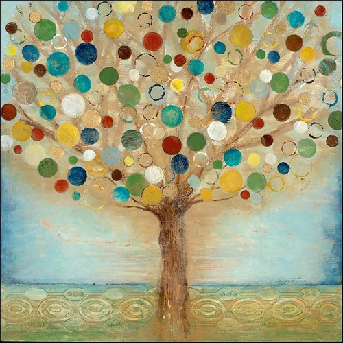 Tree Of Light Wall Art Print