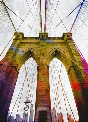 Brooklyn Bridge New York Wall Art Print