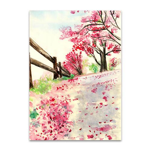Spring Flowers on Ground