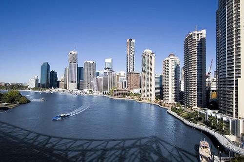 Brisbane Skyline Wall Print