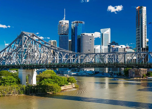 Brisbane Story Bridge Wall Art Print