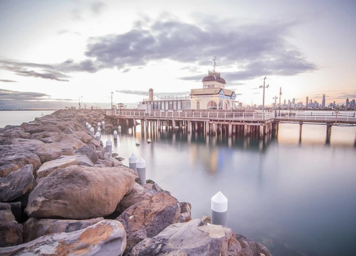 St Kilda Pier Melbourne Wall Art Print