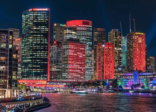 Sydney City Skyline Wall Art Print