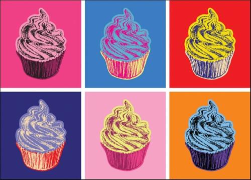 Cupcakes Food Wall Art Print
