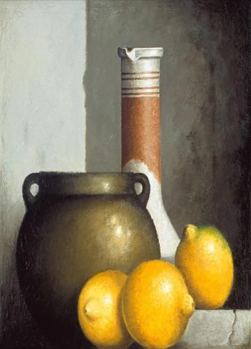 Lemon Still Life Wall Art Print