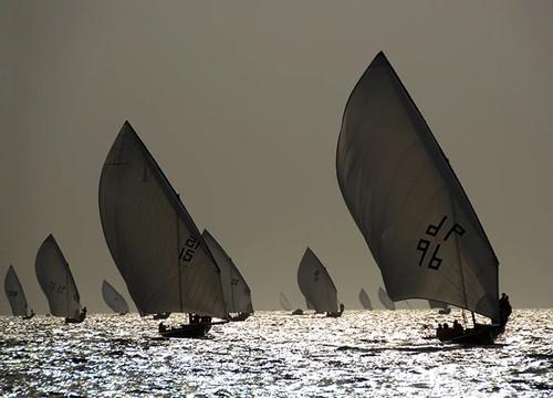 Boat Sailing Wall Art Print