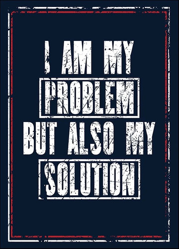 I Am the Solution Wall Art Print