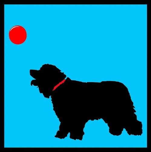 Four Dogs III Wall Art Print