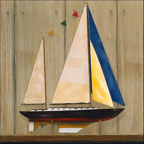 Sailboat II Wall Art Print