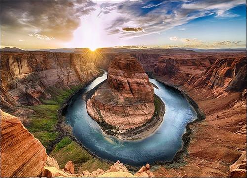 Horseshoe Bend Colorado River Wall Print