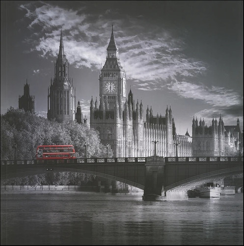 London Houses of Parliament Wall Print