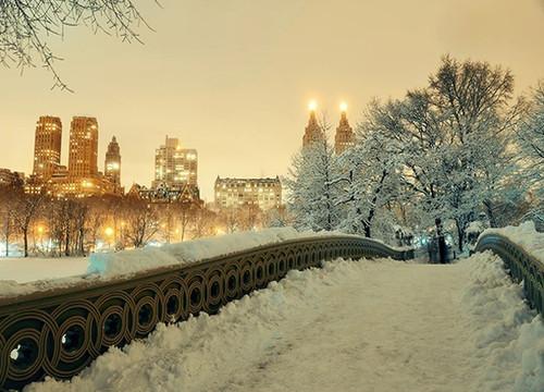 Winter Manhattan New York City Print