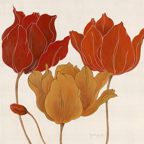 Austin's Tulips II Wall Art Print