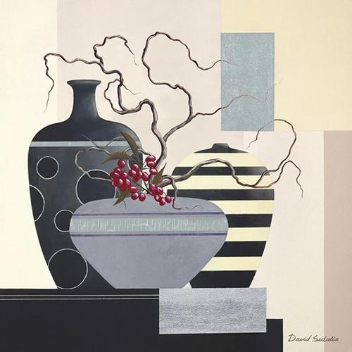 Twigs and Berries II Wall Art Print