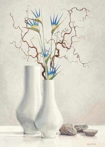 Willow Twigs Wall Art Print