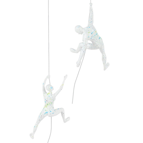 Poly Resin Climbing Couple