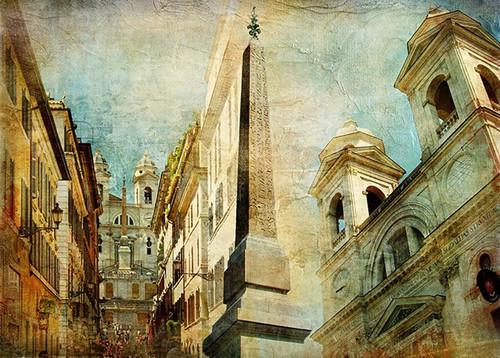 Rome Spanish Stairs Wall Print
