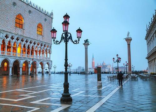San Marco Square Venice Wall Print