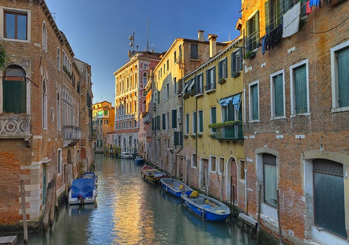 Venice Italy Water Wall Art Print