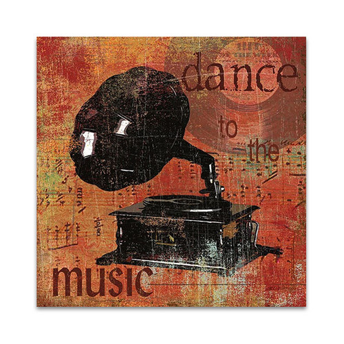 Dance To The Music Wall Print