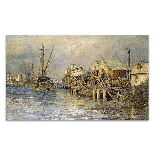 McCubbin | The Old Ship Williamstown