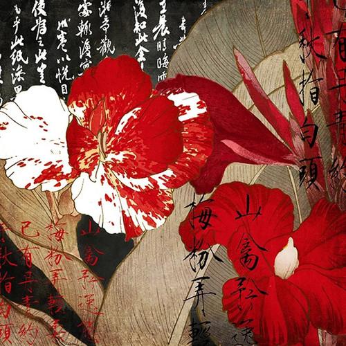 China Red I Wall Art Print