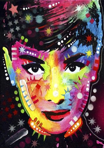 Shining Woman Wall Art Print