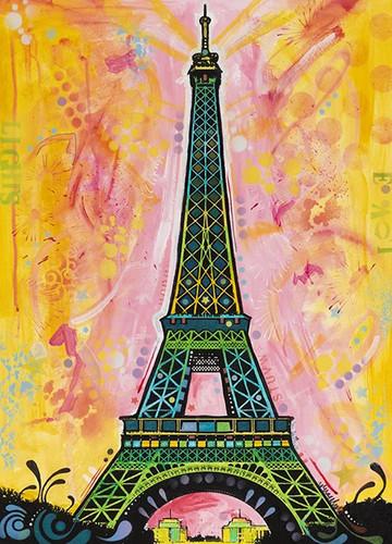 Eiffel Tower Paris Wall Art Print