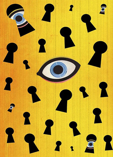 Eyes Are Watching Wall Art Print
