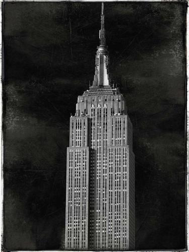 New York Empire State Wall Art Print