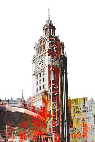 Wrigley Building Chicago Wall Art Print