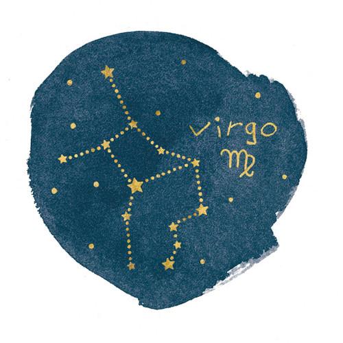 Horoscope Virgo Wall Art Print