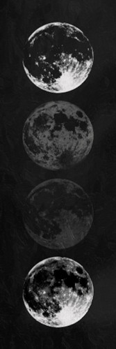Moon Shade Reverse Wall Art Print