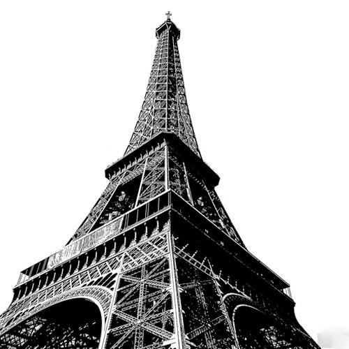 High Eiffel Tower Wall Art Print