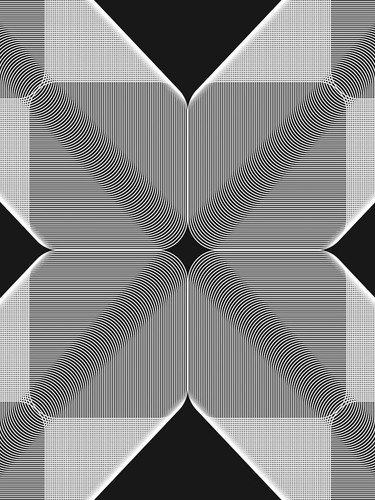 Linear Motion II Wall Art Print