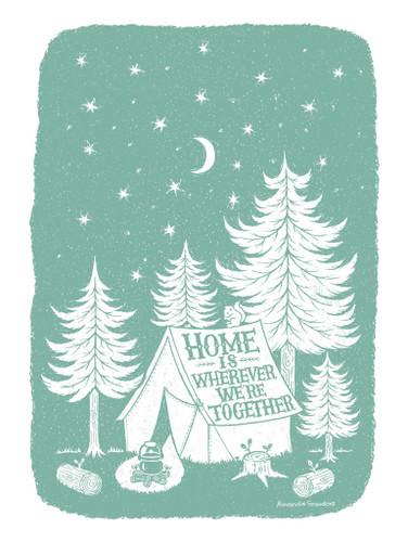 Home Together Wall Art Print