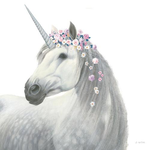 Spirit Unicorn II Wall Art Print