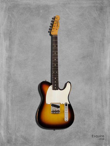 Fender Equire Wall Art Print