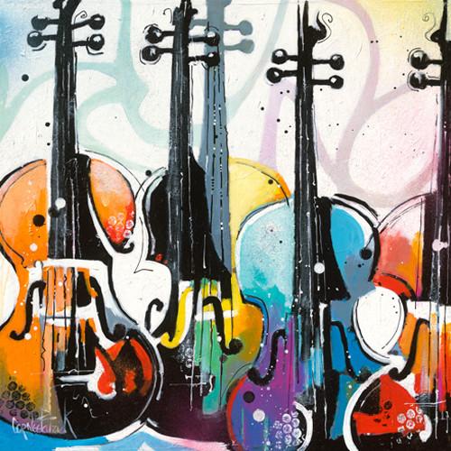 Variation for Violin I Wall Art Print