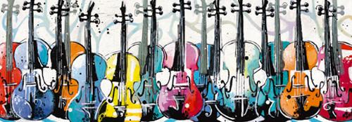 Variation for Violins Wall Art Print