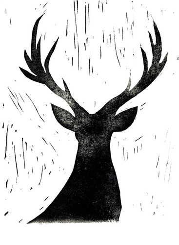 Deer Friend Wall Art Print