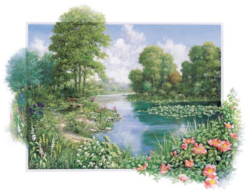 The Pond I Wall Art Print