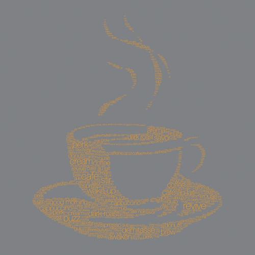 Coffee Talk I Wall Art Print