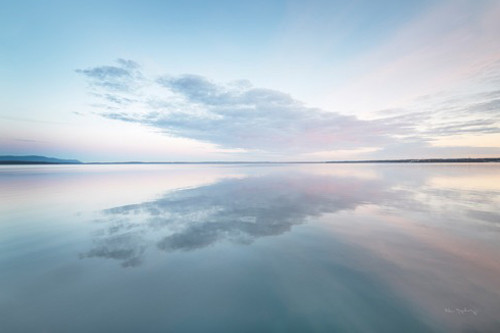 Bellingham Bay Clouds Reflection I Wall Art Print