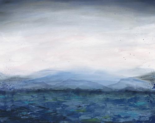 Mountain Lake Wall Art Print